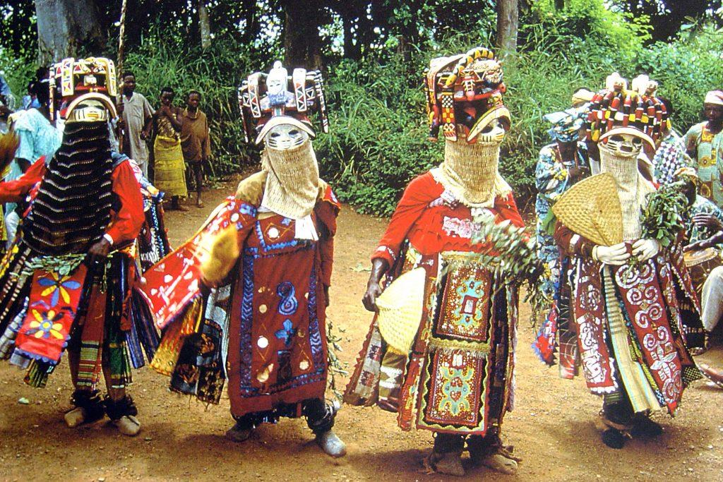 Gèlèdé - elaborate, vibrant headdresses