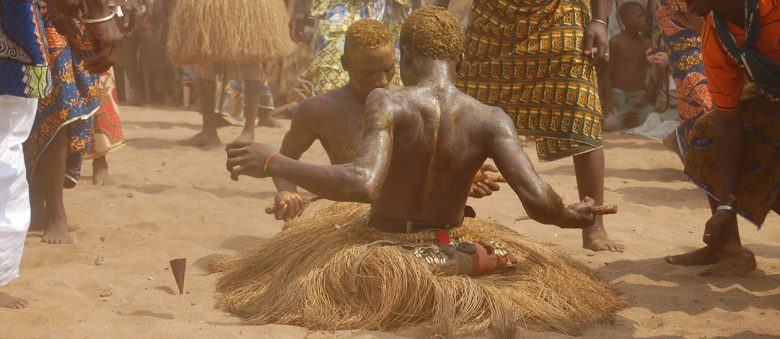 Twin Festival, a vodun cult of twins, in Ouidah, Benin