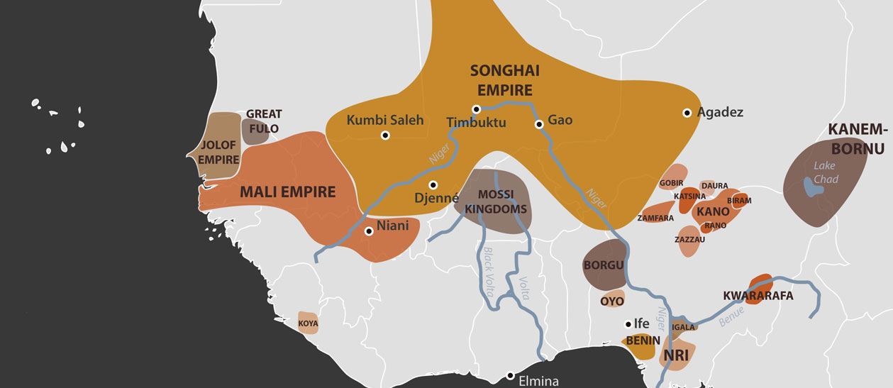the songhai empire The songhai (also less commonly spelled songhay) empire is located in the northwestern part of africa in from the late 1400's to the late 1500's.