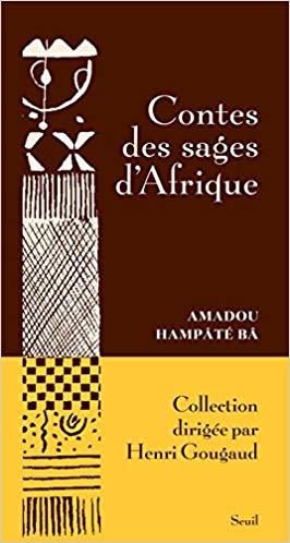 """Couverture du livre """"Contes des sages d'Afrique"""" d'Amadou Hampaté Bâ"""