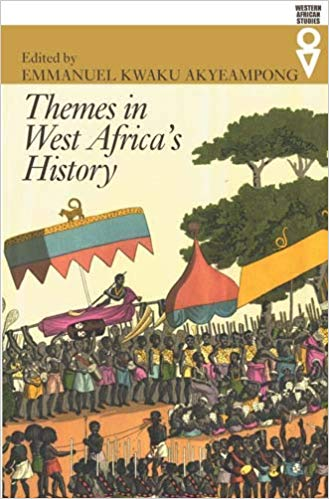 Cover of the West African history book 'Themes in West Africa's History' by Emmanuel Akyeampong