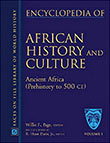 Cover of the 'Encyclopedia of African History and Culture' by Willie F. Page and R. Hunt Davis, Jr.
