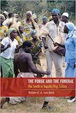 Cover of the West African culture book 'The Forge and the Funeral', about Kapsiki-Higi blacksmiths, by Walter van Beek.